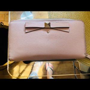 Kate Spade ♠️ light pink wallet